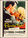 "Movie Posters:Comedy, Pillow Talk (Universal International, 1959). Poster (30"" X 40""). Comedy.. ..."