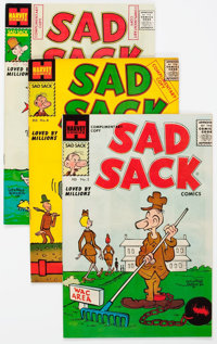 Sad Sack Comics Armed Forces Complimentary File Copies Box Lot (Harvey, 1957-62) Condition: Average VF/NM