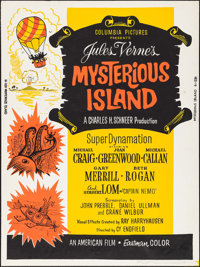 """Mysterious Island & Other Lot (Columbia, 1951). Posters (2) (30"""" X 40""""). Serial. ... (Total: 2 Items)"""