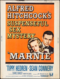 "Marnie (Universal, 1964). Poster (30"" X 40""). Hitchcock"