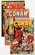 Bronze Age (1970-1979):Adventure, Conan the Barbarian Group of 85 (Marvel, 1968-73) Condition: Average VG.... (Total: 85 Comic Books)