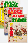 Silver Age (1956-1969):Humor, Sad Sack and the Sarge File Copies Box Lot (Harvey, 1960s-80s) Condition: Average VF/NM....