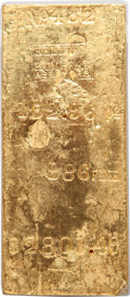 Kellogg & Humbert Gold Ingot. 152.96 Ounces