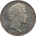 German States:Bavaria, German States: Bavaria. Ludwig I 2 Taler 1842 MS63 PCGS,...