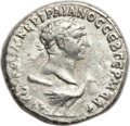 Ancients:Roman Provincial , Ancients: PHOENICIA. Tyre. Trajan (AD 98-117). AR tetradrachm(12.34 gm). Good VF....