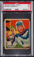 Football Cards:Singles (Pre-1950), 1935 National Chicle George Kenneally #3 PSA EX 5....