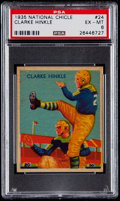 Football Cards:Singles (Pre-1950), 1935 National Chicle Clarke Hinkle #24 PSA EX-MT 6....