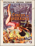 "Movie Posters:Horror, Circus of Horrors (American International, 1960). Poster (30"" X 40""). Horror.. ..."