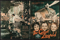 """The Great Ziegfeld (MGM, 1936). Program (20 Pages, 10"""" X 13.25""""). Musical"""
