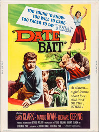 "Date Bait & Others Lot (Filmgroup, 1960). Posters (3) (30"" X 40""). Bad Girl. ... (Total: 3 Items)"