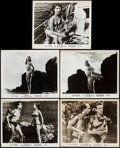 "Movie Posters:Foreign, The Girl in the Bikini (Atlantis Films, 1958). Photos (9) (8"" X 10""). Foreign.. ... (Total: 9 Items)"
