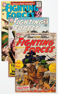 Our Fighting Forces Group of 31 (DC, 1956-69) Condition: Average GD/VG.... (Total: 31 Comic Books)