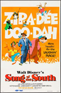 """Movie Posters:Animation, Song of the South & Other Lot (Buena Vista, R-1972). One Sheets (2) (27"""" X 41"""") & Autographed Sketch (7.25"""" X 10.5""""). Animat... (Total: 3 Items)"""