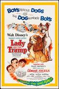 "Movie Posters:Animation, Lady and the Tramp & Other Lot (Buena Vista, 1962). One Sheets(2) (27"" X 41""). Animation.. ... (Total: 2 Items)"