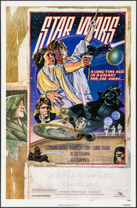 """Star Wars (20th Century Fox, 1978). One Sheet (27"""" X 41"""") Style D. Science Fiction"""