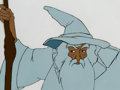 Animation Art:Production Cel, The Lord of the Rings Gandalf Production Cel (Ralph Bakshi,1978).. ...