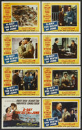 "Movie Posters:War, D-Day The Sixth of June (20th Century Fox, 1956). Lobby Card Set of8 (11"" X 14""). War. ... (Total: 8 Items)"