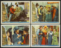 "Movie Posters:Comedy, Curtain Call at Cactus Creek (Universal International, 1950). LobbyCards (4) (11"" X 14""). Western Comedy. ... (Total: 4 Items)"