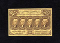 Fractional Currency:First Issue, Fr. 1281 25c First Issue Choice New. A wonderfully original type note with superb color, crisp paper surfaces and much of th...