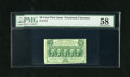 Fractional Currency:First Issue, Fr. 1312 50c First Issue PMG About Uncirculated 58. This is a very lightly circulated example of this more available first i...