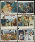 "Movie Posters:War, The Sea Chase (Warner Brothers, 1955). Lobby Cards (6) (11"" X 14""). War. ... (Total: 6 Items)"