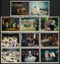 """The Time Machine (MGM, 1960). Color Stills (11) (8"""" X 10""""). Science Fiction. ... (Total: 11 Items)"""