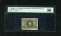 "Fractional Currency:Second Issue, Fr. 1317 50c Second Issue PMG Choice About Uncirculated 58. A fantastic example of this second issue number with ""S-18-63"" s..."