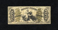Fractional Currency:Third Issue, Fr. 1357 50c Third Issue Justice Choice About New. A wonderfully margined example of this hand signed Colby-Spinner autograp...