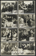 """Movie Posters:Hitchcock, The Lady Vanishes (Gaumont British, R-1940s). Australian Lobby CardSet of 8 (11"""" X 14""""). Hitchcock. ... (Total: 8 Items)"""