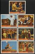 "Movie Posters:Adventure, South Sea Woman (Warner Brothers, 1953). Lobby Cards (7) (11"" X14""). Adventure.... (Total: 7 Items)"
