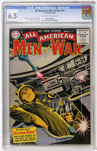 All-American Men of War #31 (DC, 1956) CGC FN+ 6.5 Off-white to white pages