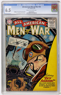 All-American Men of War #33 (DC, 1956) CGC FN+ 6.5 Cream to off-white pages