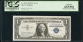 Error Notes:Mismatched Serial Numbers, Fr. 1621 $1 1957B Silver Certificate. PCGS Gem New 65PPQ.. ...