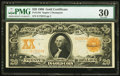Large Size:Gold Certificates, Fr. 1184 $20 1906 Gold Certificate PMG Very Fine 30.. ...