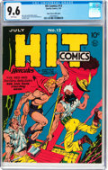 Golden Age (1938-1955):Superhero, Hit Comics #13 Mile High Pedigree (Quality, 1941) CGC NM+ 9.6 White pages....
