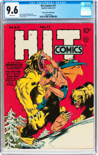 Hit Comics #11 Mile High Pedigree (Quality, 1941) CGC NM+ 9.6 White pages