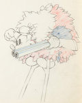 Animation Art:Production Drawing, Moose Hunters Mickey Mouse Production Drawing Animation Art(Disney, 1937)....