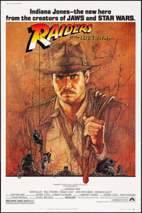 "Raiders of the Lost Ark (Paramount, 1981). Poster (40"" X 60""). Adventure"