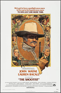 "The Shootist (Paramount, 1976). One Sheet (27"" X 41""). Western"