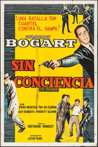 """The Enforcer & Other Lot (Astor, 1950s). Argentinean Posters (2) (29"""" X 43""""). Film Noir. ... (Total: 2..."""