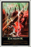 "Movie Posters:Fantasy, Excalibur (Warner Brothers, 1981). One Sheet (27"" X 41""). Fantasy.. ..."