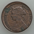 Canada, Canada: Pair of copper Error Coins,... (Total: 2 coins)