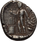 Ancients:Greek, Ancients: PAMPHYLIA. Side. Cia. 400-380 BC. AR stater (10.55 gm).Good Fine....