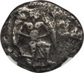 Ancients:Greek, Ancients: CILICIA. Mallus. Ca. 440-390 BC. AR stater. NGC ChoiceFine, test cuts....
