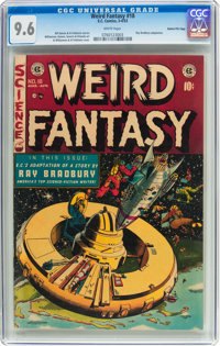 Weird Fantasy #18 Gaines File Pedigree 11/11 (EC, 1953) CGC NM+ 9.6 White pages