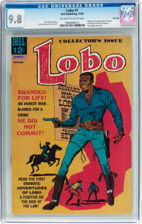 Lobo #1 File Copy (Dell, 1965) CGC NM/MT 9.8 Off-white to white pages