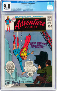 Adventure Comics #391 (DC, 1970) CGC NM/MT 9.8 White pages