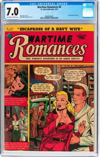 Wartime Romances #6 (St. John, 1952) CGC FN/VF 7.0 Off-white to white pages