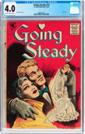 Golden Age (1938-1955):Romance, Going Steady #14 (St. John, 1955) CGC VG 4.0 Cream to off-white pages....