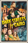 "Movie Posters:Mystery, Dark Streets of Cairo (Universal, 1940). One Sheet (27"" X 41"").Mystery.. ..."
